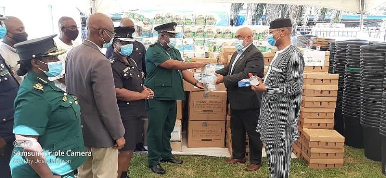 UNODC donates PPEs to Ghanaian law enforcement agencies to fight crime in this COVID-19 period