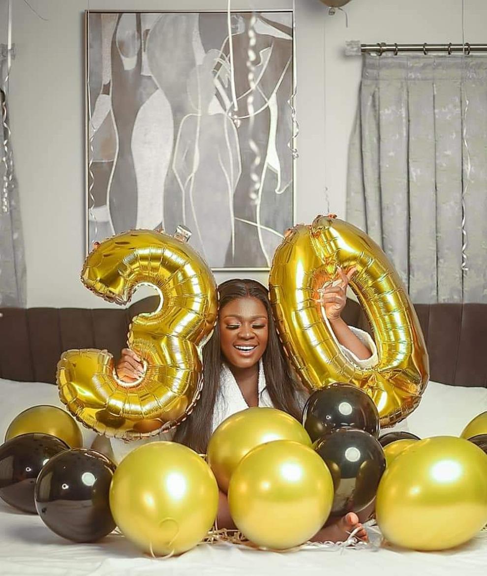 Tracey Boakye turns 30