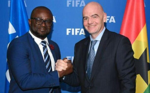 Kurt Okraku applauds GFA staff for ensuring timely arrival of FIFA Covid-19 relief fund