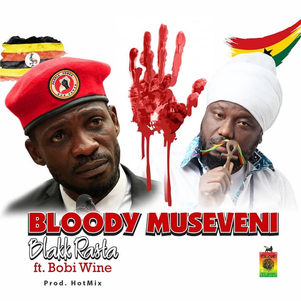 Blakk Rasta, Bobi Wine turn on heat on Museveni in Uganda's official uprising Anthem
