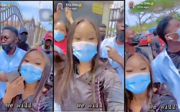 [Video] This is why Efia Odo and other #FixTheCountry members were arrested today