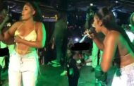 Watch the moment Yaa Jackson's breast fell off during stage performance (VIDEO)